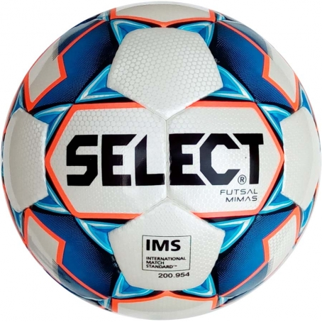 Мяч футзальный Select Futsal Mimas IMS NEW (125) бел/син/оранж