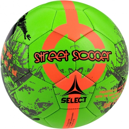 Мяч футбольный SELECT Street Soccer New (203) зел/оранж, размер 4,5
