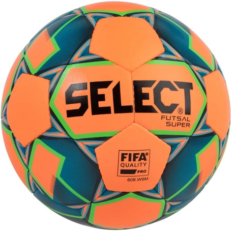 Мяч футзальный Select Futsal Super FIFA NEW (206) оранж/син