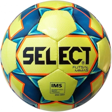 Мяч футзальный Select Futsal Mimas IMS NEW (102) желт/син