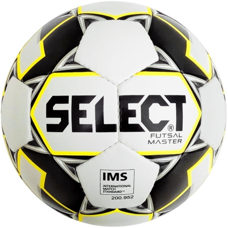 Мяч футзальный Select Futsal Master NEW IMS (129) бел/желт/черн