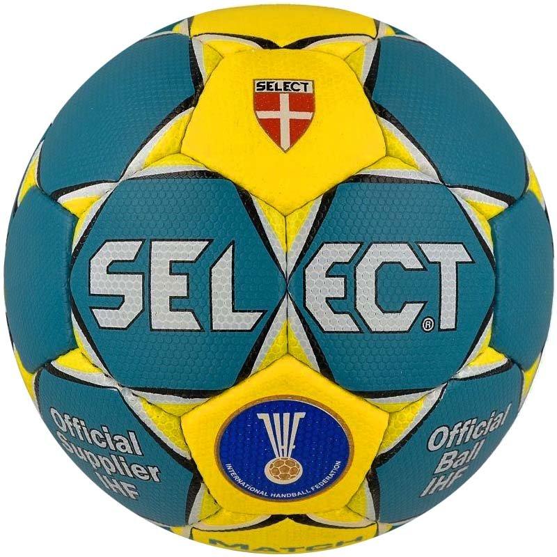 Купить Мяч гандбольный Select Match Soft Green (зелен желтый) р.3 ... 75639e77a77dc
